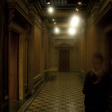 Haunting Interior of the more decadent and classical Finnish National Archives via A.D.Morley & J.A.Wong