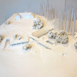 Initial concept model of UC Santa Cruz's new Institute of the Arts and Sciences. Image © Tod Williams Billie Tsien Architects