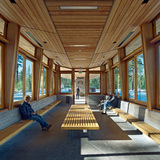 Tahoe City Transit Center; Tahoe City, CA by WRNS Studio (Photo: Bruce Damonte/WRNS Studio)