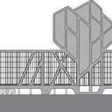 Elevation back. Image courtesy of J. MAYER H. Architects