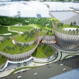 Taichung City Cultural Center design entry from Maxthreads Architectural Design and Planning