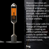 Visual Design Award: Beacon by frog design (Courtesy NYC Mayors Office)