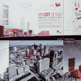 "First Place - Jury Vote: ""MINICITY Detroit,"" Davide Marchetti and Erin Pellegrino; Rome, Italy"