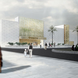 Future projects health winner: New Sulaibikhat Medical Center, Kuwait by AGI Architects. Image courtesy of WAF.