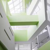 Pars Hospital in Rasht, Iran by New Wave Architecture (Lida Almassian | Shahin Heidari); Photo | Parham Taghioff