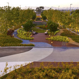Landscape Architecture Award: The Reserve. Landscape Architect: Katherine Spitz Associates, Inc. Design Architect: HLW International LLP. Photo Credit: Steve Lacap or OE/UEDA Photography