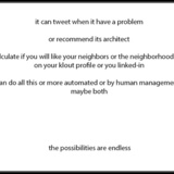 proposition for a social network for [buildings] by Cairo2seattle