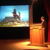 Principal Geoff di Girolamo of Surfacedesign Inc. Photo credit: Ayesha Ghosh.
