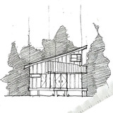 a small design build project for a boathouse! by Claire Wood
