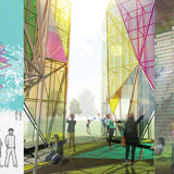 """Structures of Freedom"" winners announced​ — Valerio De Santis + Andrea Cappiello​ to design illuminating 2017 Sziget Festival pavilion"