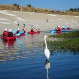 A kayak trip down the LA River. Courtesy of Steven Appleton.