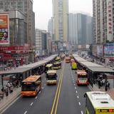 Guangzhou Bus Rapid-Transit System: AFTER: Project/design team: Zhang Guangning, former Mayor of Guangzhou, and Su Zequn, Executive Vice Mayor of Guangzhou, The People's Government of Guangzhou Municipality; Xiaomei Duan, Chief Engineer, Guangzhou Municipal Engineering Design & Research Institute...
