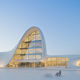 Designs of the Year 2014 Category Winners. ARCHITECTURE: HEYDAR ALIYEV CENTER, BAKU, AZERBAIJAN. Designed by Zaha Hadid and Patrik Schumacher. Photo courtesy of Designs of the Year 2014.