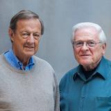 Lifetime Achievement: Ivan Chermayeff and Tom Geismar. Photo: Chermayeff & Geismar & Haviv. Photo (c) Chermayeff & Geismar & Haviv