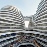 Galaxy Soho, Beijing, China by Zaha Hadid Architects; Photo: Hufton + Crow