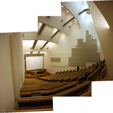 Lecture hall of Aalto University via A.D.Morley & J.A.Wong