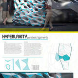 """PARTITION Winner: """"HYPERLAXITY: parabolic ligaments"""" by Elizabeth Boone with PROJECTiONE (Adam Buente and Kyle Perry)"""