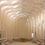 Award for Community or Residential Structures: Bishop Edward King Chapel, Oxfordshire, UK; Structural Designer: Price & Myers; Image: Piers Awdry.