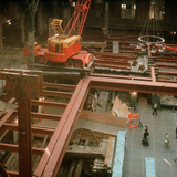 Demolition of the NYC Penn Station on Oct. 28, 1963. Photo ⓒ Norman McGrath, courtesy of AIA | NY.