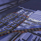Aerial view of the proposed Airport City (Image: Grimshaw Architects)