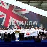 Team UOW. Photo via illawarraflame.com.au