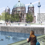 Holcim Gold Award: Urban renewal and swimming-pool precinct: Panorama Flussbad - right side.