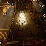 "Stop by LOT's ""Flatiron Sky-Line"" at NYC's Flatiron District during the holidays"