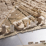 A model of the project. Credit- Foster + Partners