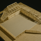 Equipment Shed (model) in San Juan Island, WA by Charles Rose Architects