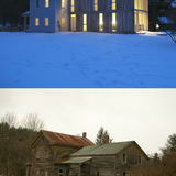 Restored Farmhouse by Mckean Architecture