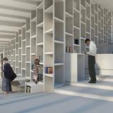 Library interior (Image: studio SH)