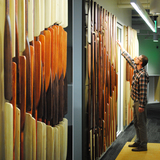 Landmark Walls in Cambridge, MA by Radlab in collaboration with Natalie Engels & Joanne Rarangol of Gensler