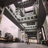 Kenzo Tange's Fuji TV Headquarters, via Evan Chakroff