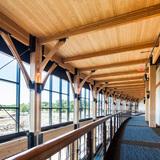 """Innovative Wood Engineering: Promega Feynman Center, """"The Crossroads"""" in Madison, WA. Architect – Uihlein‐Wilson Architects, Inc. Photo © Aitor Sanchez/EwingCole"""