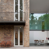 House on Bassett Road in London, UK by Paul+O Architects; Photo: Fernando Guerra