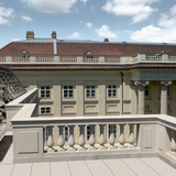 New and old winner: Conversion of the Palais Rasumofsky, Austria by Baar-Baarenfels Architects. Image courtesy of WAF.