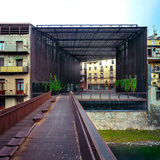 La Lira Theater Public Open Space, 2011, Ripoll, Girona, Spain. In collaboration with J. Puigcorbé. Photo - Hisao Suzuki