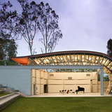 The Wild Beast - CalArts in Valencia, CA by Hodgetts + Fung; Photo: Tom Bonner