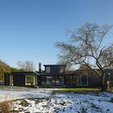 Crowbrook, Hertfordshire by Knox Bhavan Architects. Photo: Dennis Gilbert.