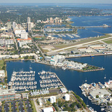 St. Petersburg launches a second RFQ for a new redesign of the Pier: City of St. Petersburg, Florida. Image via St. Petersburg Pier RFQ.