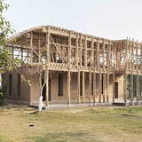 Locally manufactured school in Pakistan by Roswag Architekten, Germany
