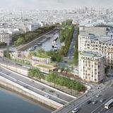SO—IL + Laisné Roussel to revamp Place Mazas near the Seine River