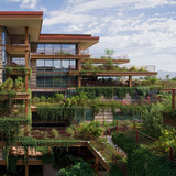 Optima Camelview Village in Scottsdale, Arizona, by David C. Hovey, FAIA. Image courtesy of the MCHAP.