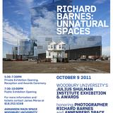 The Julius Shulman Institute at Woodbury University presents presents Richard Barnes- Unnatural Spaces