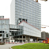Allianz Headquarters under construction by Wiel Arets Architects