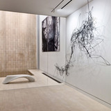 Synapse Straw Installation and Odalisque Bench in New York City by Pryor Callaway