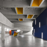 Secondary School, Braamcamp Freire Pontinha in Lisbon, Portugal by cvdb arquitectos; Photo: invisiblegentleman.com