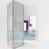 Derick Brown and Whitney Shanks | Brown and Shanks employ an outer skin of porous metal, detached from the envelope of the building and creating a light, cloud-like presence.