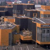 SIAL's design for a shopping center in Liberec mirrors the innovations of structuralist architecture seen predominantly in West European countries. It was demolished in 2009.