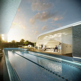 Lap pool (Image: UNStudio)